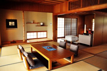 The rooms and suites blend western comfort with Japanese senstitivities