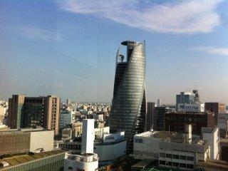 """المنظر من رواق السماء """"ميكي"""" أعلى برج ناجويا"""