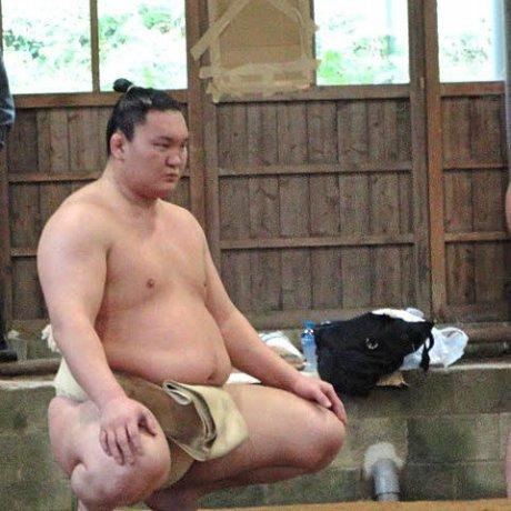 Sumo Practice in Dazaifu