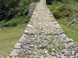 This partially restored wall of the 4th Enclosure leads to what was once the East Enclosure