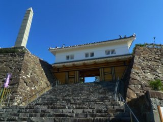 Steps leading to the Honmaru Enclosure
