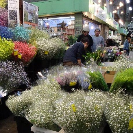 ตลาดดอกไม้โอตะ