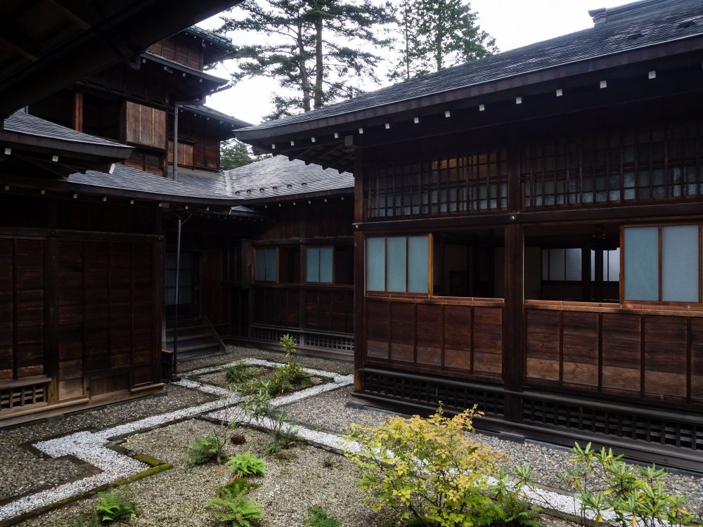 Tamozawa Imperial Villa is one of the largest wooden buildings in Japan