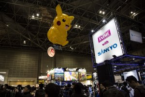 AnimeJapan is spread over 8 halls like this one