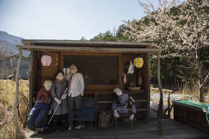 Nagoro Scarecrow Village
