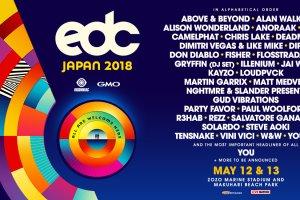 EDC 2018 Lineup