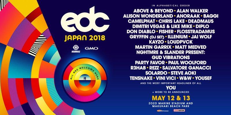 Electric Daisy Carnival (EDC) Japan
