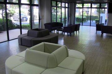 <p>The main floor lounge</p>