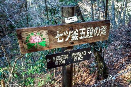 Nanatsu-gama-goden Waterfall