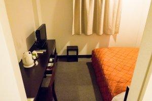 Комната очень и очень небольшая
