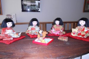 Japanese dolls from Iwatsuki