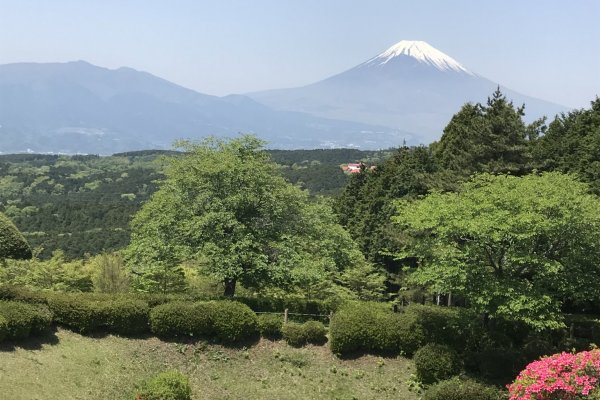 View from Yamanaka Castle Ruins Park