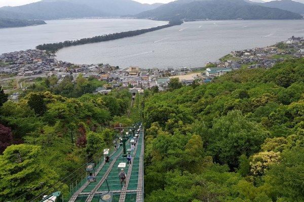 วิวอะมะโนะฮะชิดะเตะจากสวนคะสะมัตซึต