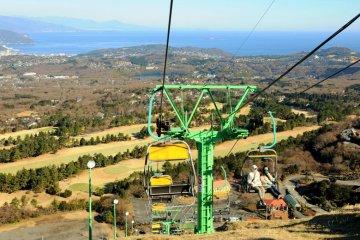 เมือง Izu Kogen ที่ภูเขา Omuro
