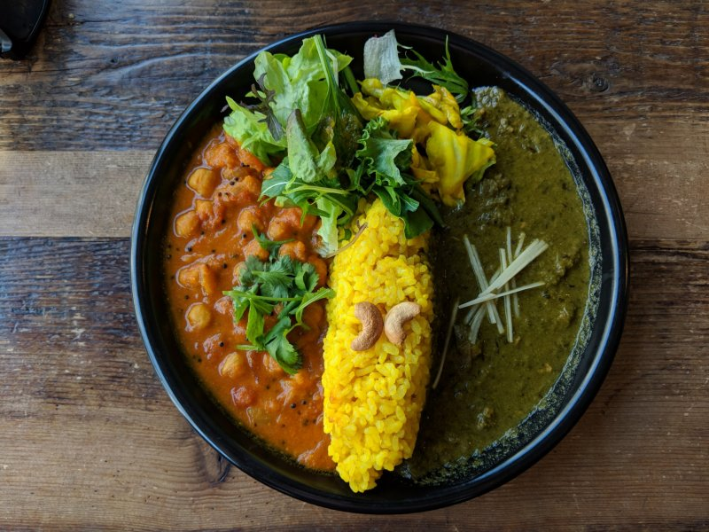 The South Indian Curry plate