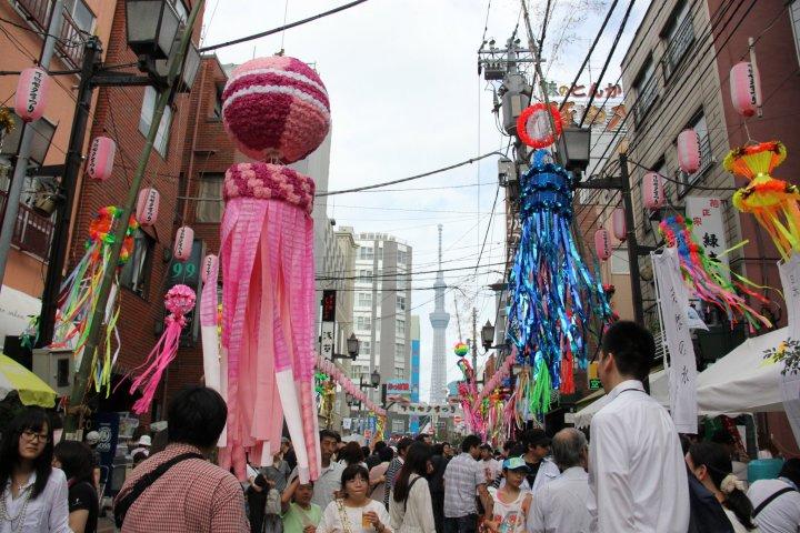 Lễ hội thất tịch Shitamachi 2018