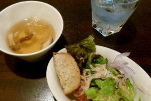 soup and salad bar takings