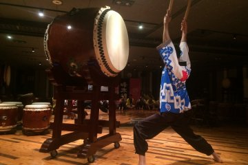 Experience Playing Japanese Drums