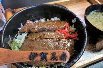 伊賀牛肉炙燒丼飯