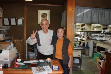<p>You will be welcomed &amp; tended to by this gracious, kind and fun couple.</p>