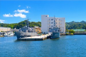 Two more navy vessels