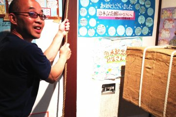 Interactive exhibits at Chisui Museum