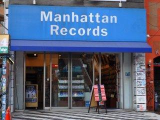 マンハッタンレコードが扱っているのは、ほとんどがヒップホップ、R&B、レゲエだ