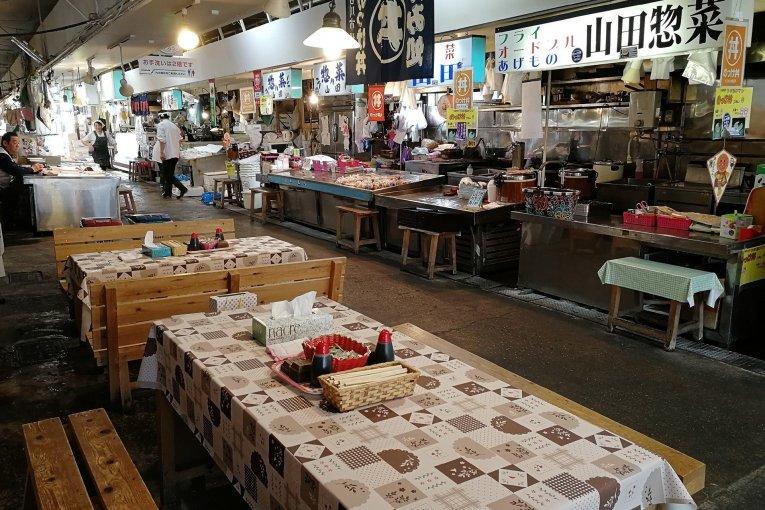 Chợ cá Nokkedon, Aomori