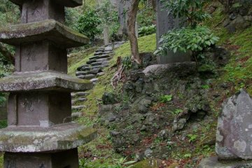 <p>Stone pagoda</p>
