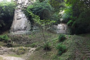 The two Kumano reliefs