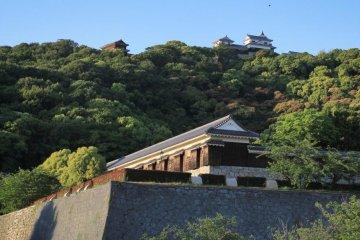 Прогулка по парку замка Мацуяма