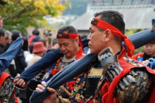 Samouraï en parade