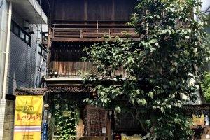 Sebuah rumah dengan nuansa antik cukup jarang ditemui di Omo