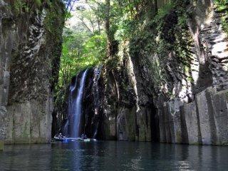 Heading towards the waterfall