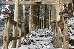 2nd Torii, Mitsumine Shrine