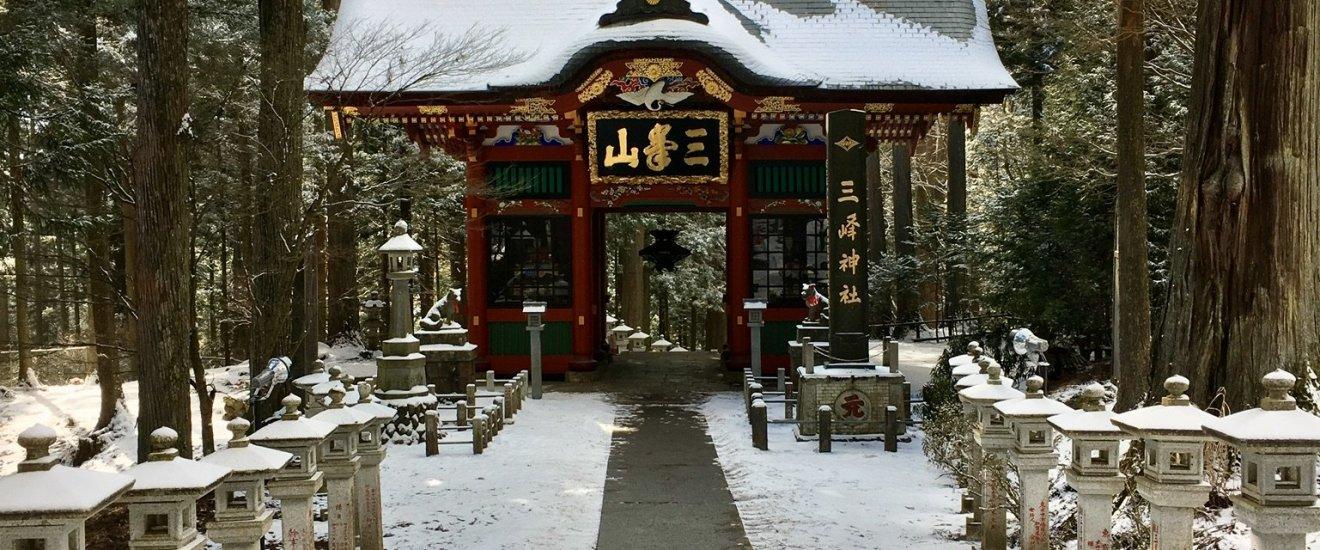 Zuishinmon, Mitsumine Shrine