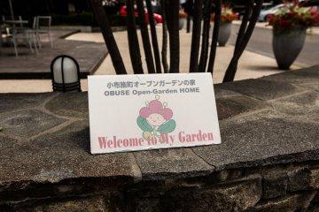 Obuse Open Garden Home