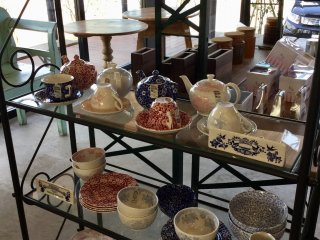 If you fall in love with the Burleigh ware you used, get your own at the shop.
