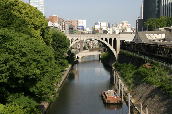 Tea for the shogun? Ochanomizu translates as \'tea water\', a reference to the nearby Kanda River.