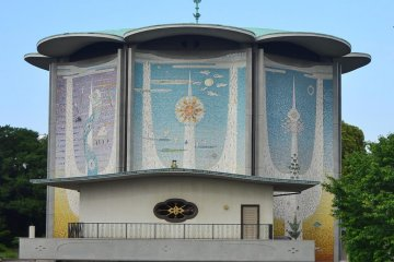 50 years old Tokagakudo Concert Hall.