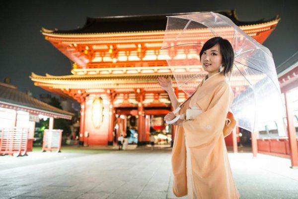 Sensoji at night