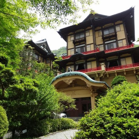 Fujiya Hotel in Hakone