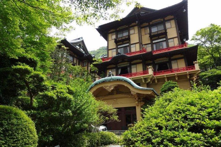 Khách sạn Fujiya ở Hakone