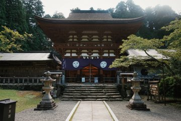 Niutsuhime Shrine is over 1800 years old