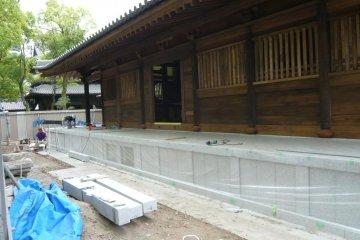 Temple restoration