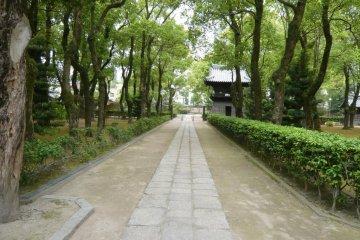Walk the grounds of Japan's oldest Zen Temple