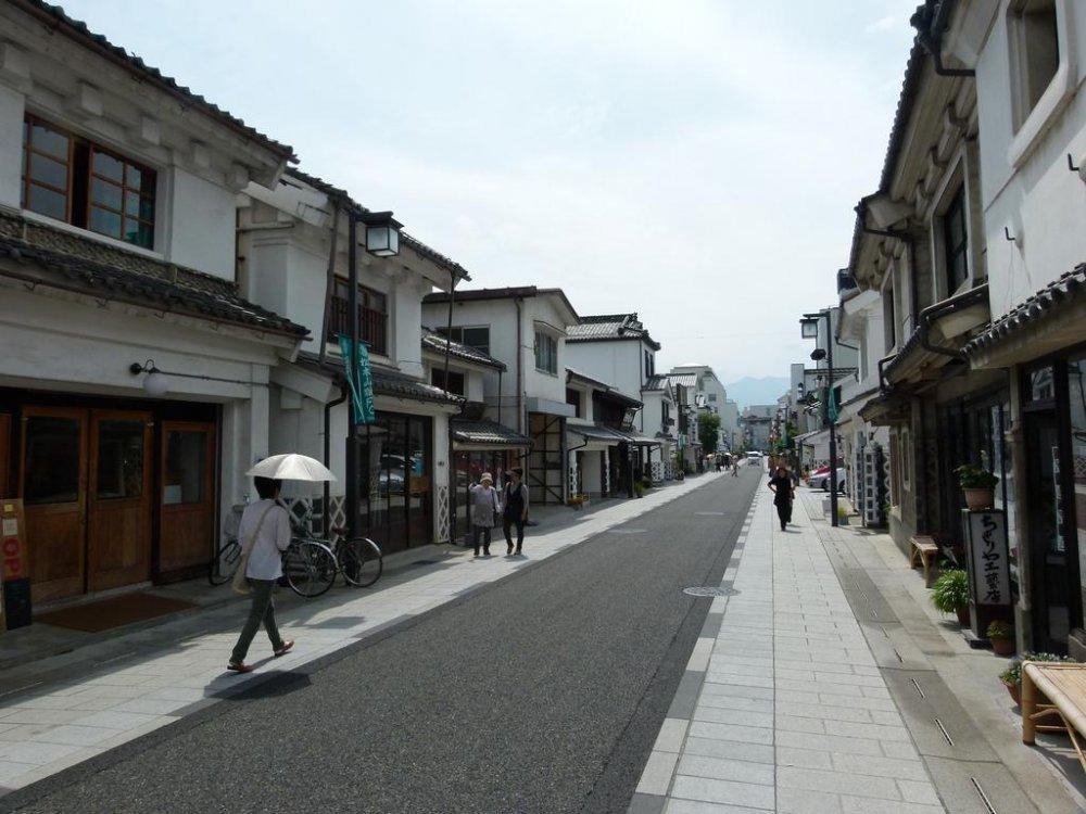 Nakamachi dilihat dari ujung jalannya