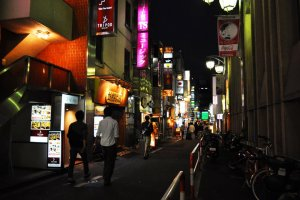 Beautifully lit street