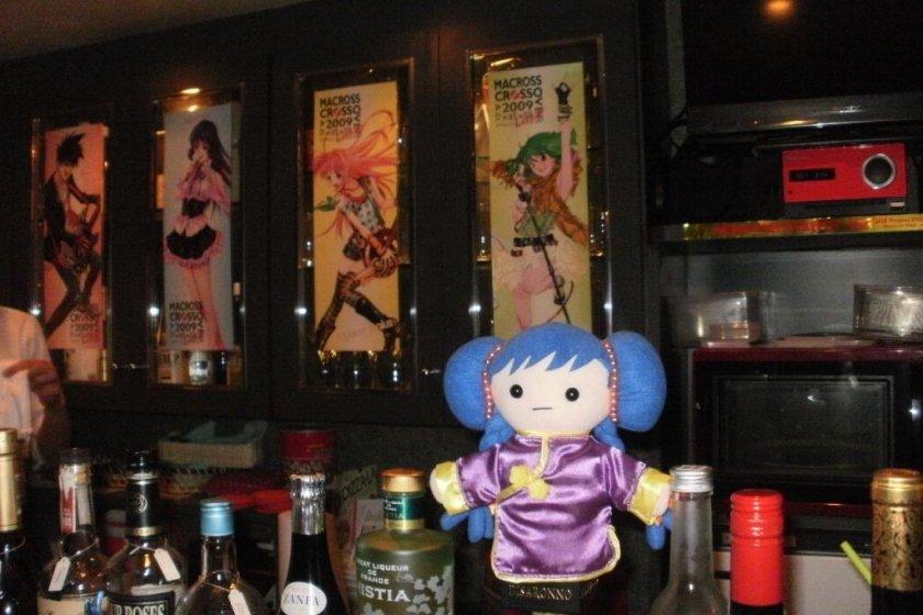 Doll of character Lynn Minmei