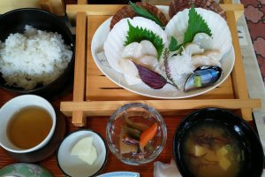 Lunch at Kitayamazaki